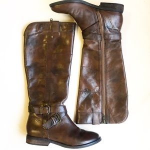 Marc Fisher wide calf boots